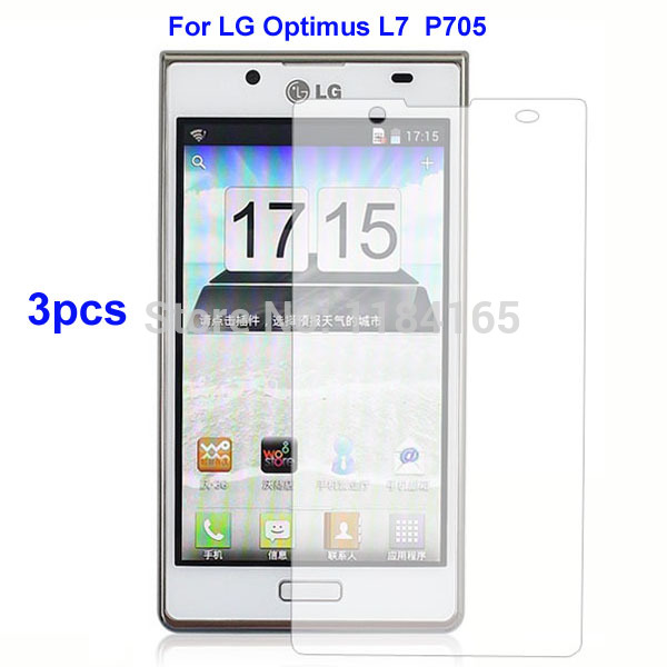 Защитная пленка для мобильных телефонов 3 LG Optimus L7 /p705 for lg optimus l7 p700 p705 swift l7 venice original lcd display screen 100