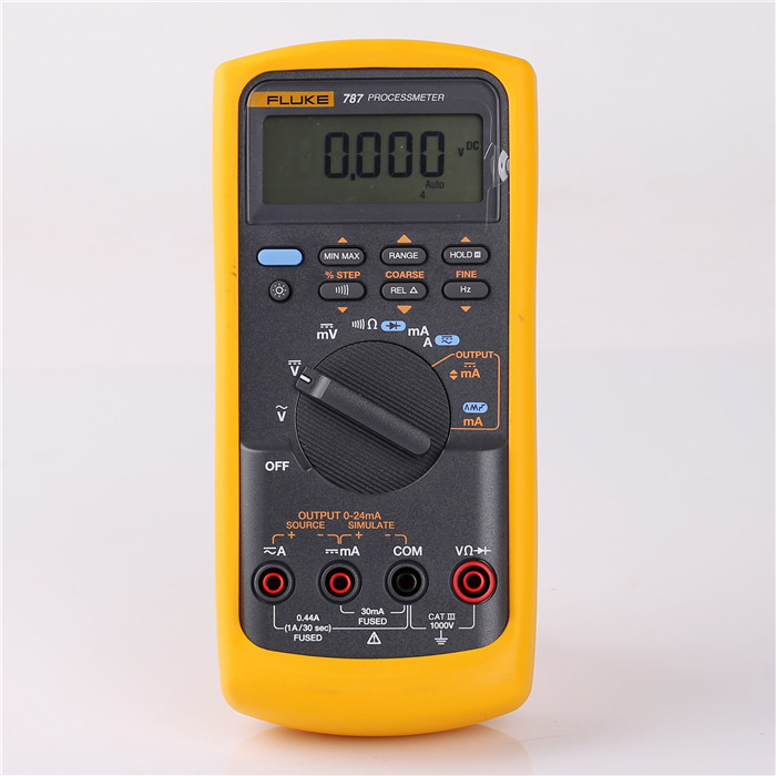 Digital Multimeter Ma : Fluke counts precision v ma digital