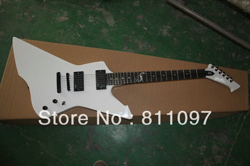The electric guitar metal band James Hetfield white