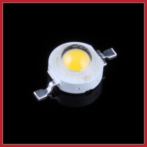 rising stars bargaineer High Power 1W LED Light Chip Energy Saving Lamp Beads 110LM 3200K Warm White DIY wholesale hot promotion(China (Mainland))