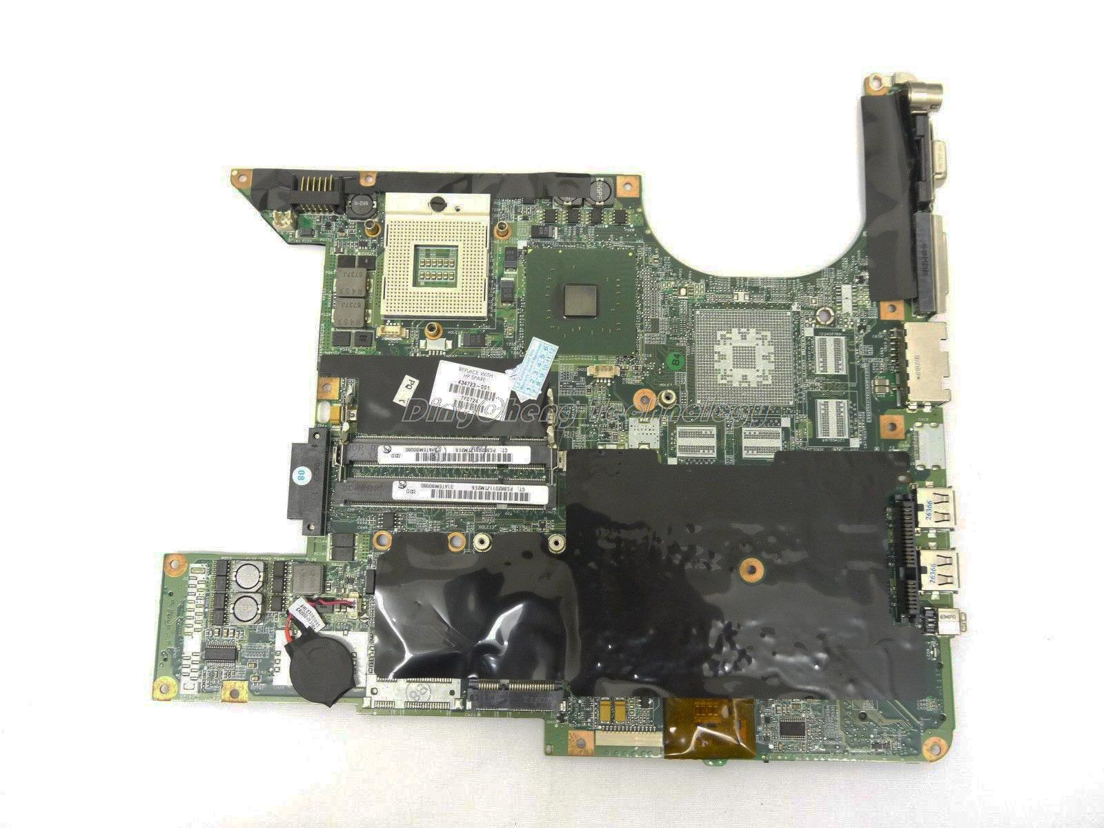 45 days Warranty laptop Motherboard For hp Pavilion dv6000 434723-001 for intel cpu with 945GM integrated graphics card(China (Mainland))