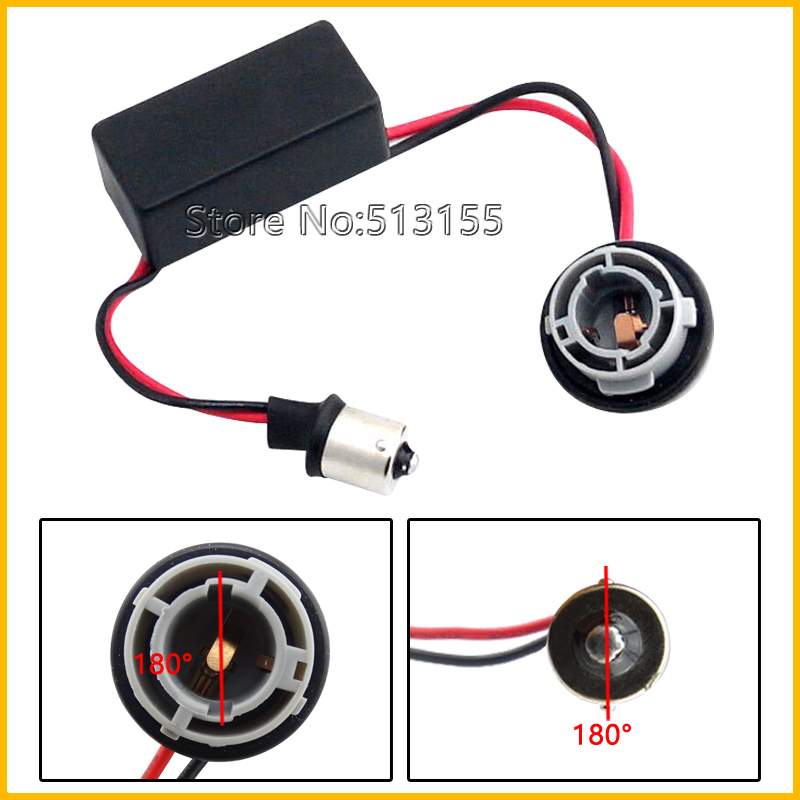 1156 Ba15s P21W Canbus Error Free Resistor LED Decoder Warning Canceller Turn Signal Bulb - Bosscar Motoring Store store
