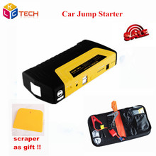 2016 Best Price Emergency Car Jump Starter for Petrol Car 12v Portable Jump Starter Power Bank/QA car charger(China (Mainland))