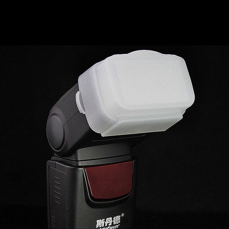 Teyeleec/Sidande Flash Diffuser Soft Box Diffuser Light Soft Diffuser for Canon for Nikon for Panasonic DF400 Flash /Speedlight(China (Mainland))
