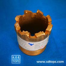 PDC coring bit, 75mm, NQ,HQ,(China (Mainland))