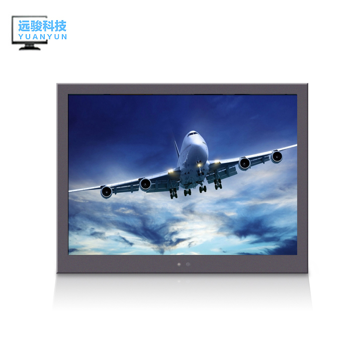 POS industrial control monitoring machines with9.7 inch   Metal frame BNC*3 lcd  monitor1024*768 resolution<br><br>Aliexpress
