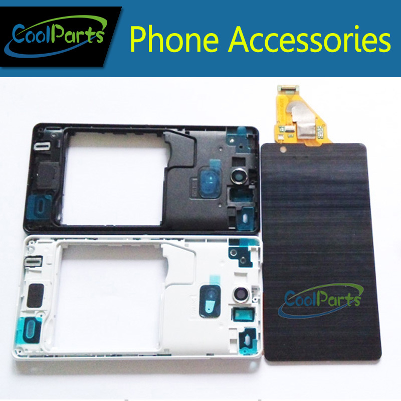 LCD Display and Touch Screen Digitizer Assembly With Frame For Sony Ericsson Xperia ZR M36H C5502 C5503 1PC/Lot  Free Shipping