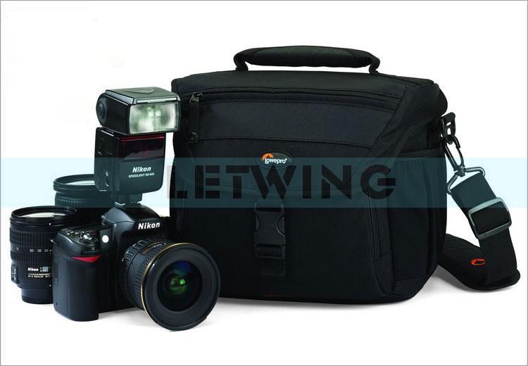 Professional Lowepro Nova 180 AW Digital SLR Camera Shoulder Bag DSLR Photo Backpack For Canon And Nikon(China (Mainland))