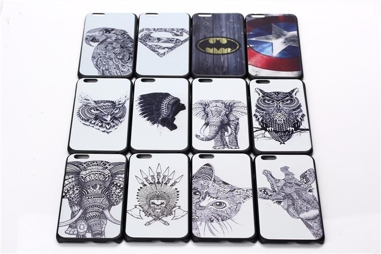 Cute Fashion Style Animal Painting Diy Pattern Cell Phone Case For Apple Iphone 5 5s 5g Pc Hard Plastic Back Cover Coque(China (Mainland))