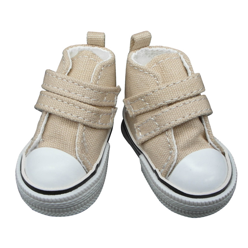 doll shoes beige