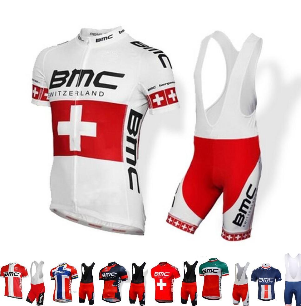 Hot sale!! 2015 BMC Cycling jerseys bib shorts set 3D gel pad best quilty Ropa maillot ciclismo free shipping(China (Mainland))