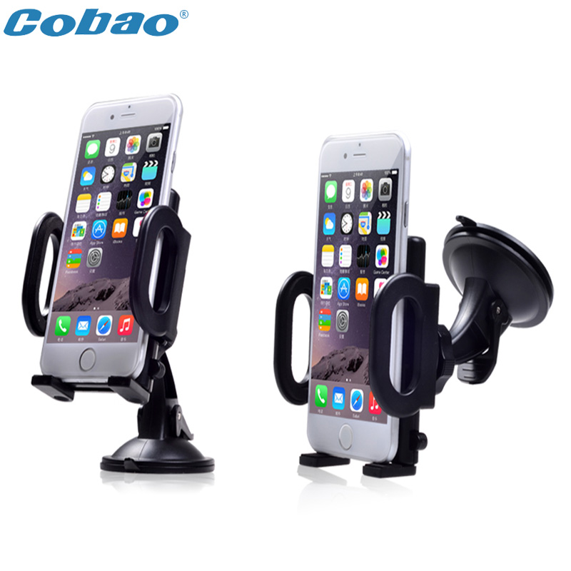 Universal Rotation Suction Cup Car Windshield Mobile Phone Holder Bracket Mount for Iphone 5 4S 6 6S PSP GPS Mount Soporte Coche(China (Mainland))