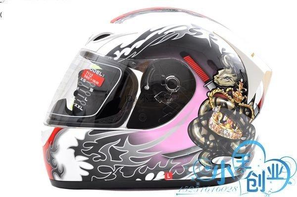 Freeshipping BCM001# BEON B-500 Classic Full Face Helmet Winter Helmet Racing Helmet International Version Motorcycle HelmetsN15