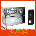100 Original SBODY VapeDroid C1D2 DNA75W E Cigarette TC Mod Powered by famous Evolv chips from
