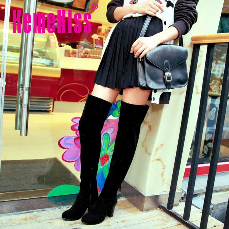 Гаджет  CooLcept Free Shipping over knee half wedge boots women snow fashion winter warm boot footwear shoes P10604 EUR size 34-43 None Обувь