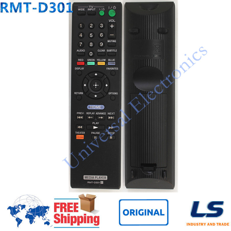 [ ORIGINAL ] RMT-D301 Remote Commander Fit For SONY SMPN100 SMP-N100 NETWORK WIFI MEDIA PLAYER(China (Mainland))