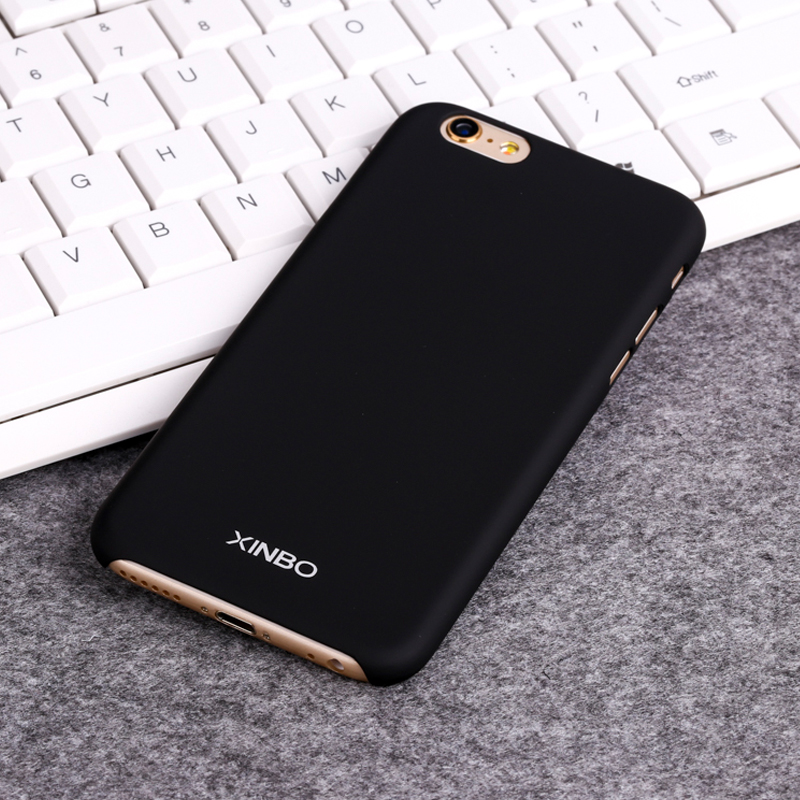 For iPhone 6 Case Luxury Xinbo 0.8 mm Ultra Thin Semipermeable Cover Bag Fundas For Apple iPhone 6 Phone Case Accessories Black(China (Mainland))