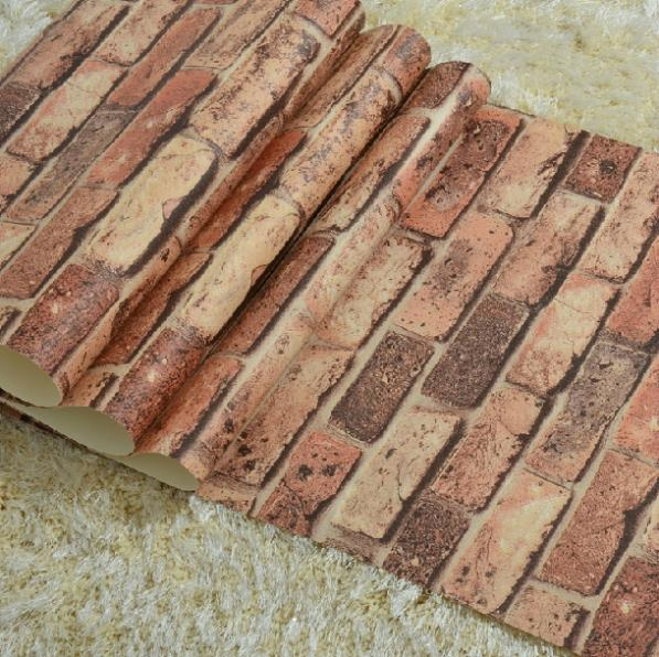 Wallpaper kiss picture more detailed picture about for 3d brick wallpaper for walls