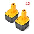 2pcs NiCd Battery for Dewalt DW9072 DW9071 DC9071 DE9037 DE9071 DE9072 DE9074 DE9075 152250 27 397745