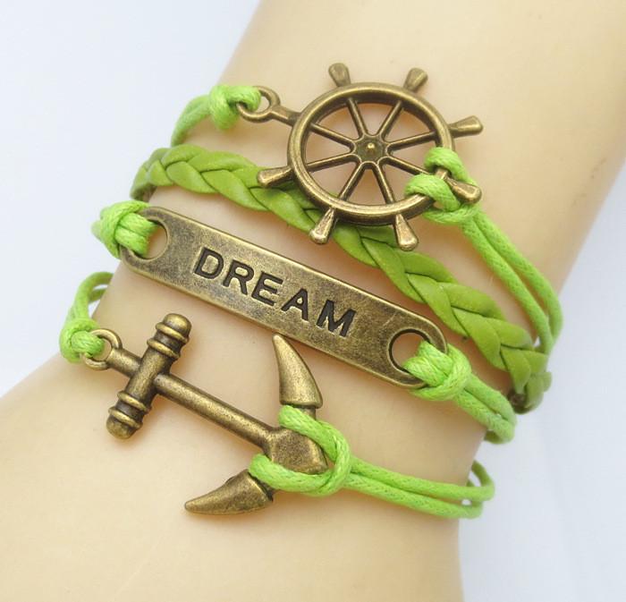 Harry Potter Wings Infinity Bracelet
