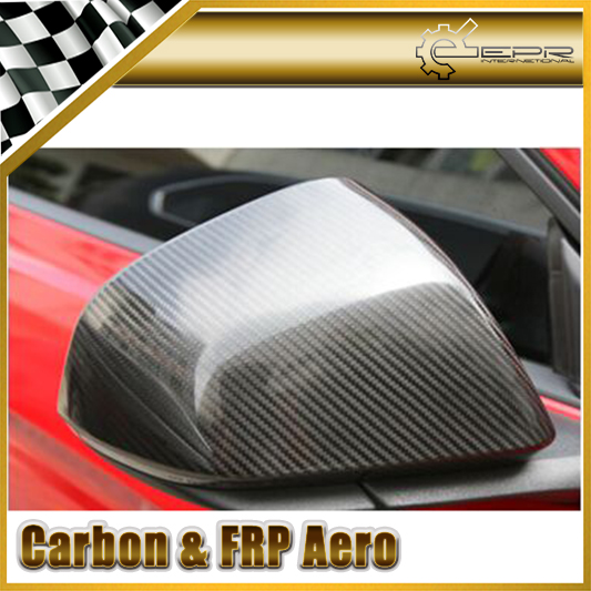 New Car Styling For Ford 2015 Mustang Carbon Fiber Mirror Cover(Stick On Type)<br><br>Aliexpress