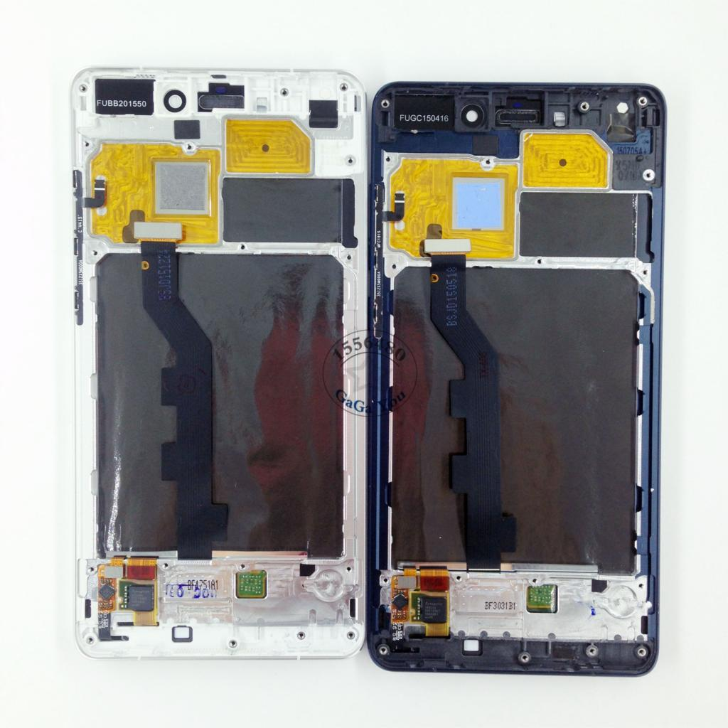 For Xiaomi Note White/Black LCD Display Touch Screen Digitizer + Frame Assembly Spare Parts