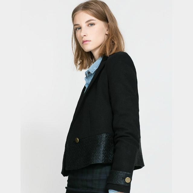 blaser feminino women jacket & blazer 2015 abrigos mujer casacos single breasted ladies business suits work blaser coats(China (Mainland))