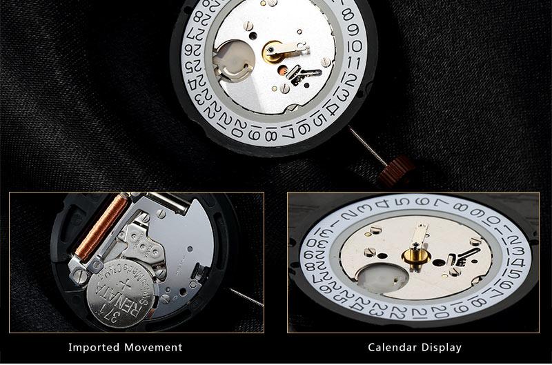 Горячая Продажа Нержавеющей Стали Наручные Часы Простые Спортивные Часы H4.5726G
