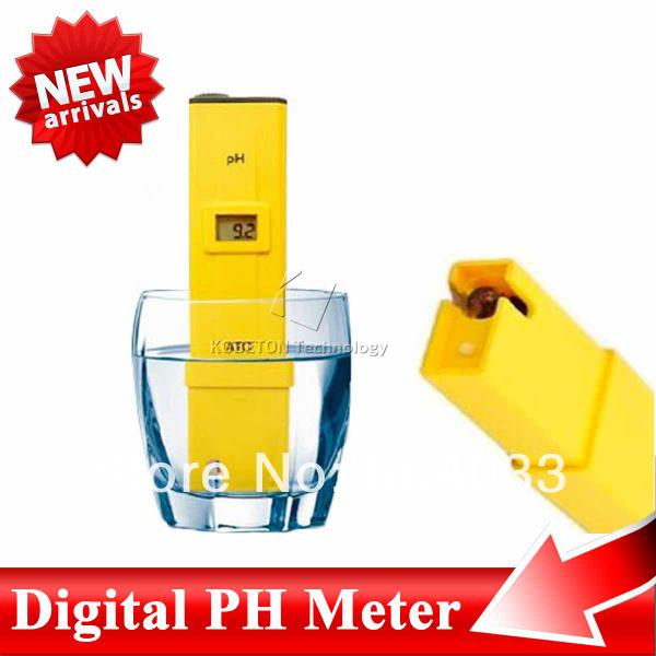 Discounting! New Digital PH Range Measure Meter/Tester 0-14 Durable Aquarium Portable Acidity Pocket Pen(China (Mainland))