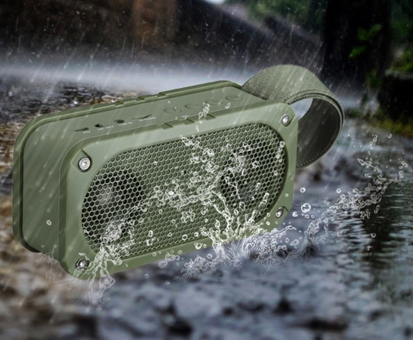 25 hour player Bluetooth Speaker Support TF card NFC MP3 waterproof,anti fall, shockproof, dustproof Outdoor sport speaker(China (Mainland))