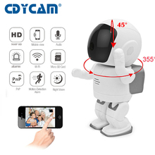 Buy Robot WIFI IP Camera 960P HD Baby Monitor 1.3MP CMOS Wireless CCTV P2P Audio Security Cam Remote Home Monitoring IR Night Vision for $54.99 in AliExpress store