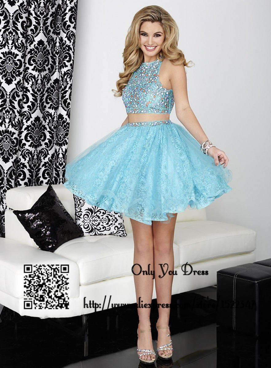 Semi Formal Two Piece Dresses - Boutique Prom Dresses