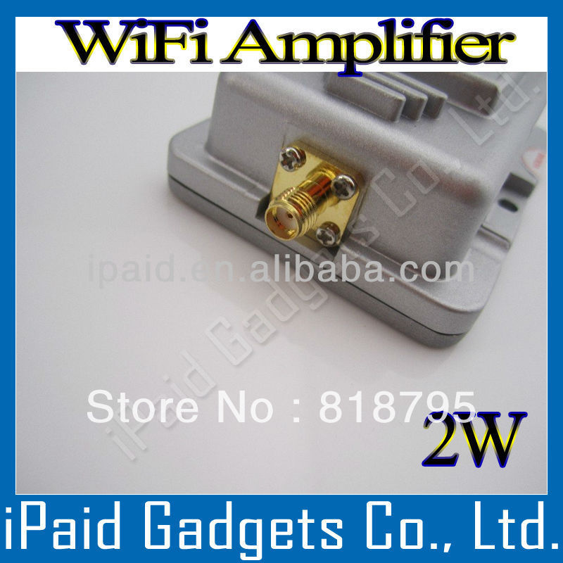 2.4GHz Expand Broadband Signal Booster 802.11b/g WIFI Wireless Routers 2000mW 2W WiFi Amplifiers - Shenzhen iPaid Gadgets Co., Ltd. [ Gold Suppliers ] store