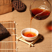 More than 45 years old puer tea Oldest chinese yunnan puerh Down three high Clear fire