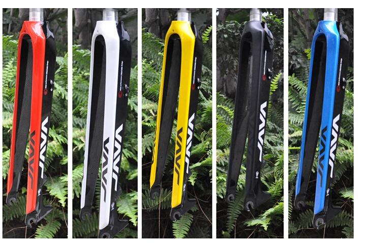 Best JAVA fork 26 29er mountain bike carbon fiber hard fork full size high speed mountain bike java carbon hard fork mtb fork(China (Mainland))