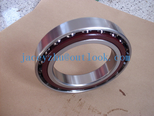 Фотография Free shipping 7010CP4 Angular contact ball bearing high precise bearing in best quality 50x80x16mm