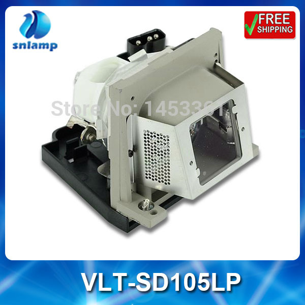Фотография Compatible  projector bulb lamp VLT-SD105LP with housing for SD105 SD105U XD105U