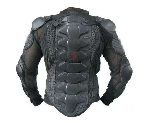 Free shipping Racing Motorcycle Body Armor Spine Chest Protective Jackets Gear Full body prootector black Size M L XL XXL XXXL(China (Mainland))