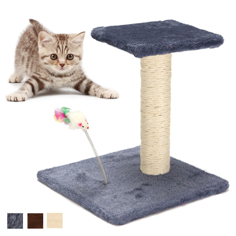 Hot Sale Cat Scratchers Toy Wood Climbing Tree Cat Jumping Toy with Ladder Climbing Frame Cat Furniture Scratching Post Play Toy(China (Mainland))
