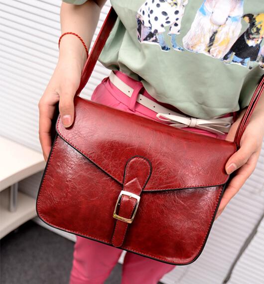 Free shipping /2015 new bolsas femininas Korean version of the handbags /British retro packet / messenger bag wine red  tide<br><br>Aliexpress