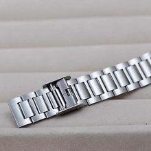Classic Men Women Retro Stainless Steel LCD Digital Sports Stopwatch Wrist Watch