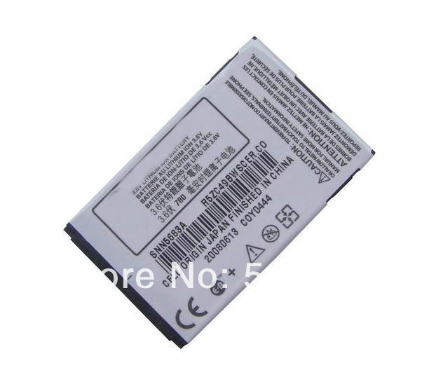 Free shipping high quality mobile phone battery SNN5683A for Motorola A630 A760 A768 V300 V400 V500 V501 V550 V551 V555 V600(China (Mainland))