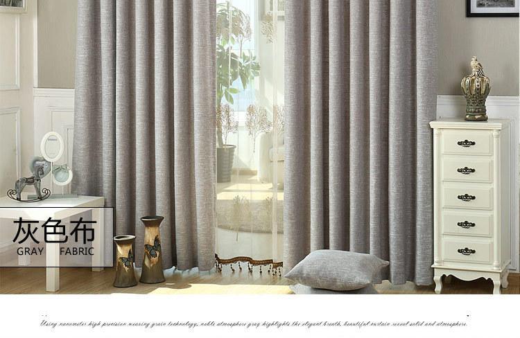 וילון בד לחדר השינה חצי צל פרחים רקומים חלון צרפתי וילונות Cortinas הסלון קורטינה מודרני טול