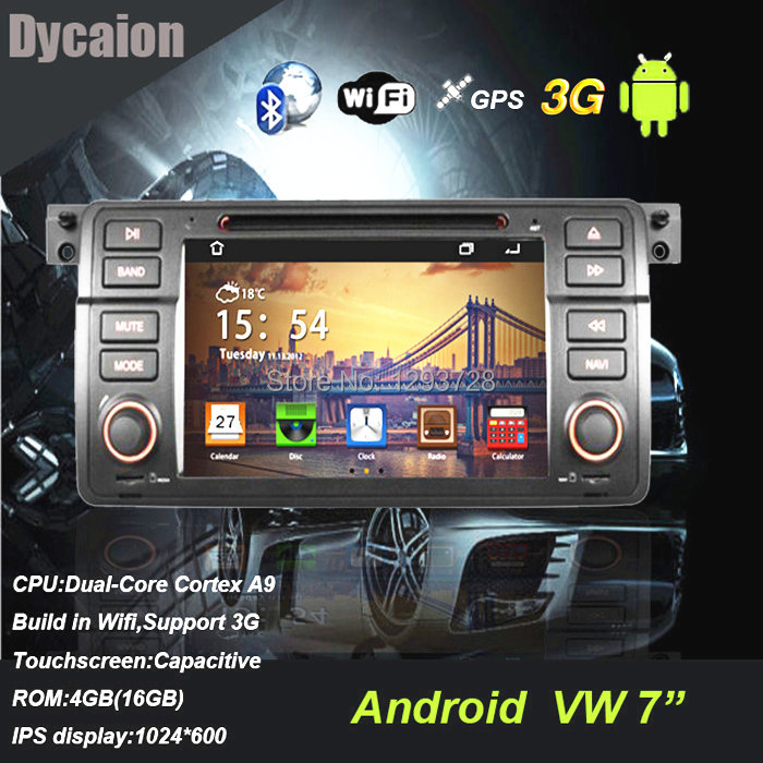 For bmw E46 GPS navigation with bluetooth/with CD mp3 player radio TV FM 3G WIFI CANBUS RDS/for bmw e46 gps player(China (Mainland))