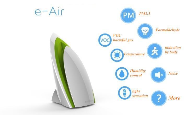 Broadlink A1,E-air,wifi Air Quatily Detector Intelligent Purifier,smart home Automation,phone detect Temperature Humidity Noise