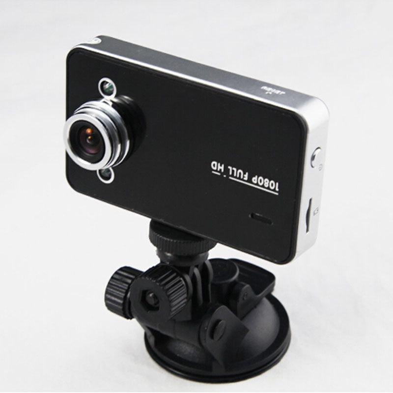 "1920x1080P Full HD Car DVR 2.7"" Vehicle Camera Video Recorder G-sensor Night Vision K6000(China (Mainland))"