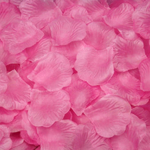 1000 pcs 16color  artificial flower Silk Petals Wedding Flowers Decor party decorations(China (Mainland))