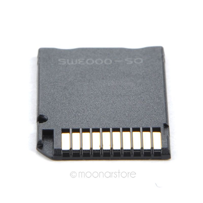 HOT TF Card Reader Memory Stick MS Pro Duo Adapter Converter Card Case Mini Micro SD
