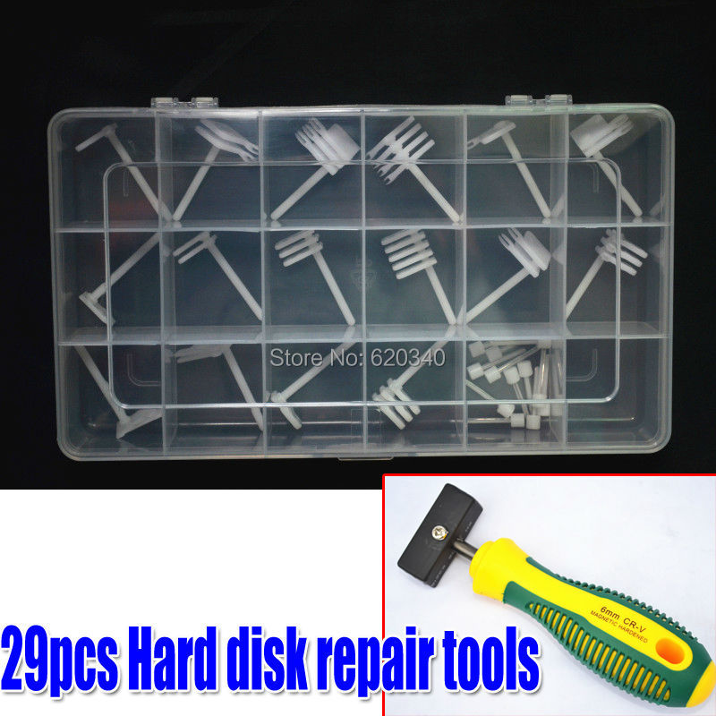 Гаджет  29/PCS Hard drive head replacement tool Hard disk repair tools +High-power Magnet Picker For the 2.5-inch to 3.5-inch SAS SCSI None Инструменты