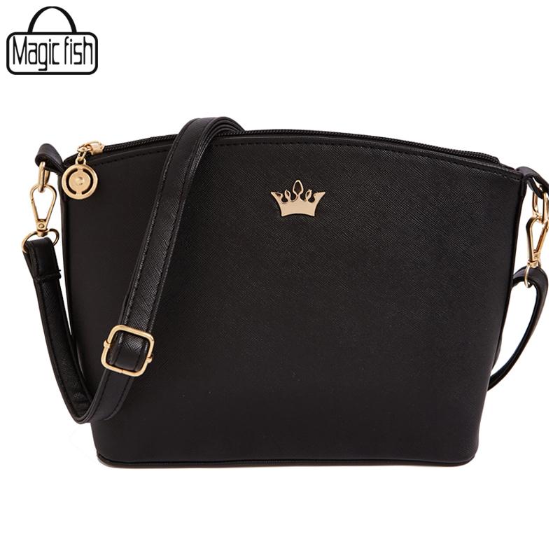 Women Handbag Casual Women Messenger Bags Shell Pattern Cross Body Bags Good Quality Women Bag 2016 Tote & Imperial Crown LM2369(China (Mainland))